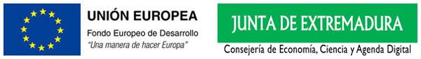 Imagen fondo FEDER y  Junta de Extremadura -